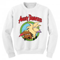 angry beavers Youth Sweatshirt | Artistshot