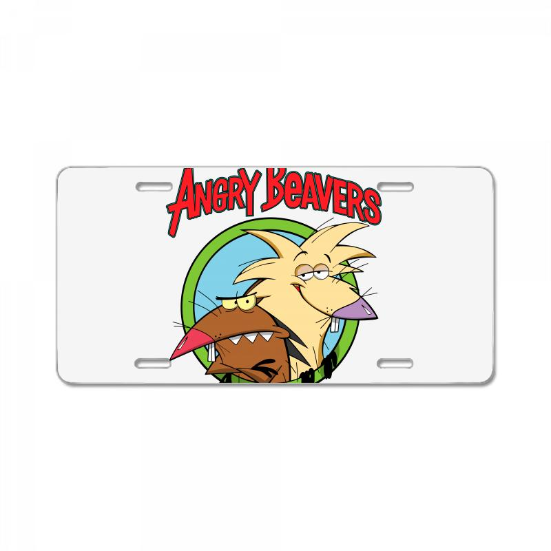 Angry Beavers License Plate | Artistshot