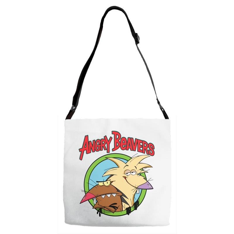 Angry Beavers Adjustable Strap Totes | Artistshot