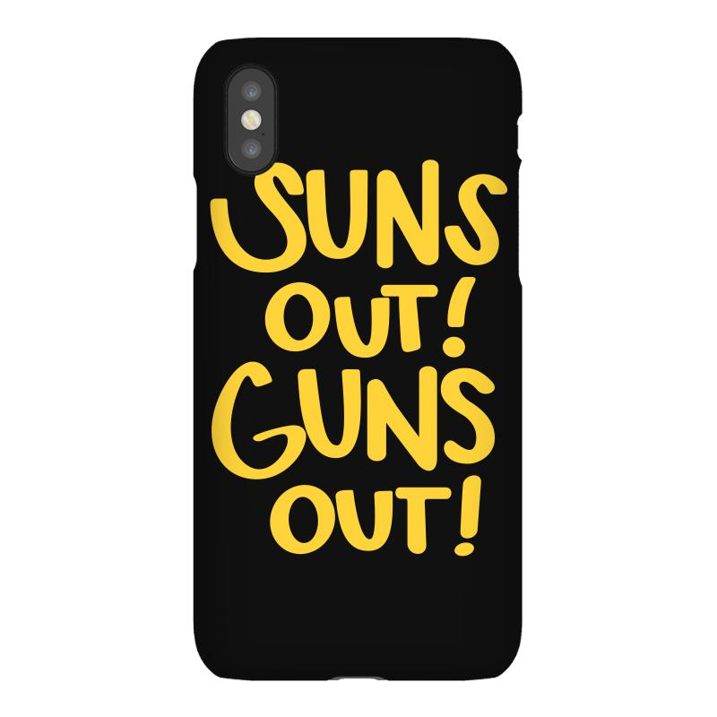 Sun's Out Guns Out Iphonex Case | Artistshot
