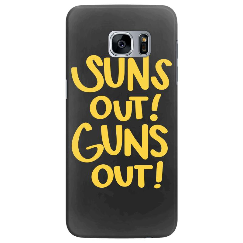 Sun's Out Guns Out Samsung Galaxy S7 Edge Case | Artistshot