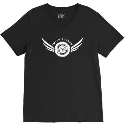 imported from detroit chrysler V-Neck Tee | Artistshot