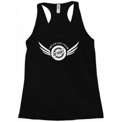 imported from detroit chrysler Racerback Tank | Artistshot
