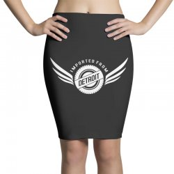 imported from detroit chrysler Pencil Skirts | Artistshot