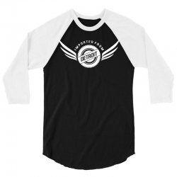 imported from detroit chrysler 3/4 Sleeve Shirt | Artistshot