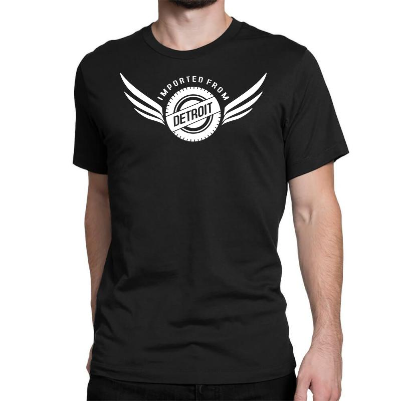 Imported From Detroit Chrysler Classic T-shirt | Artistshot