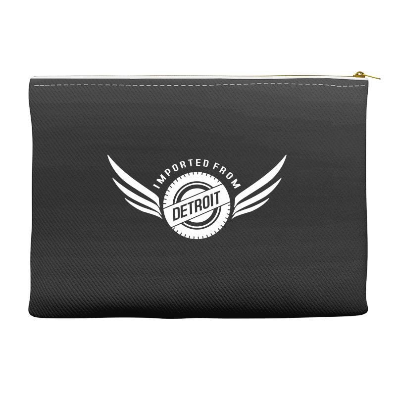 Imported From Detroit Chrysler Accessory Pouches | Artistshot