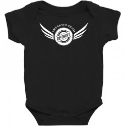 imported from detroit chrysler Baby Bodysuit | Artistshot