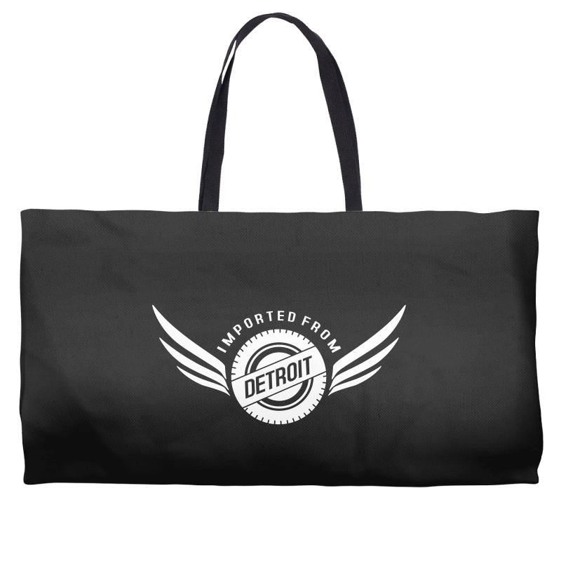 Imported From Detroit Chrysler Weekender Totes | Artistshot