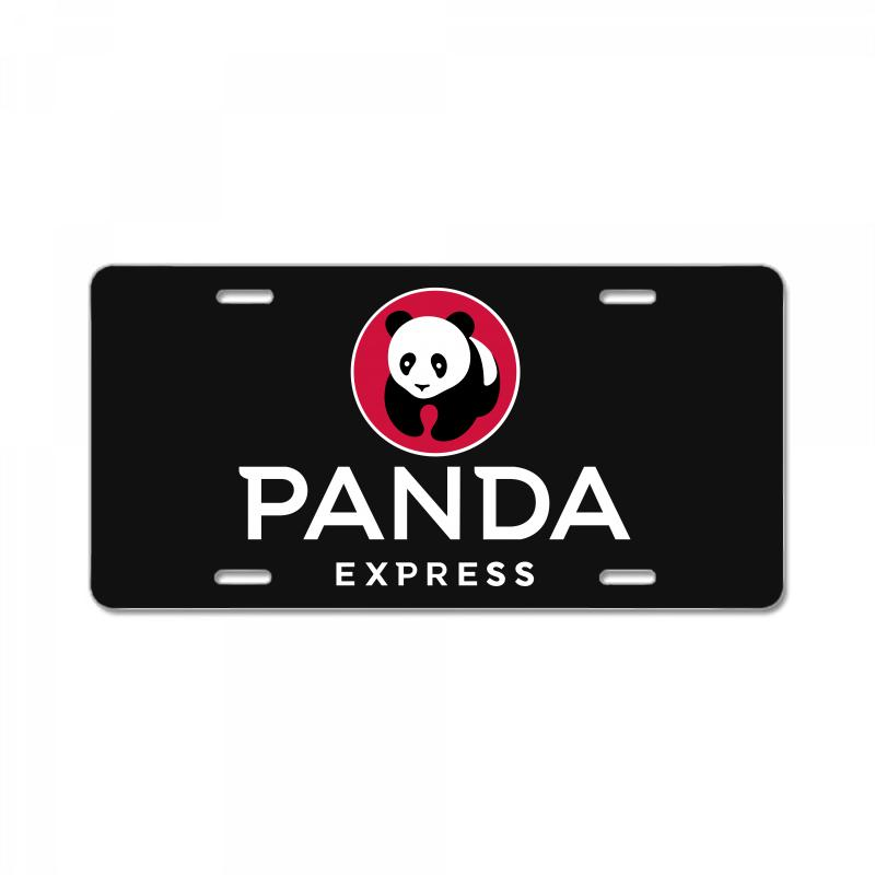 Panda Express License Plate | Artistshot