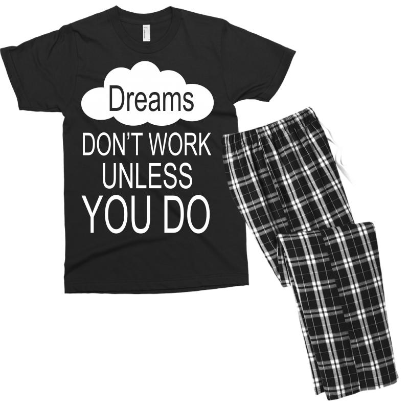 Don't Work Unless You Do Men's T-shirt Pajama Set | Artistshot