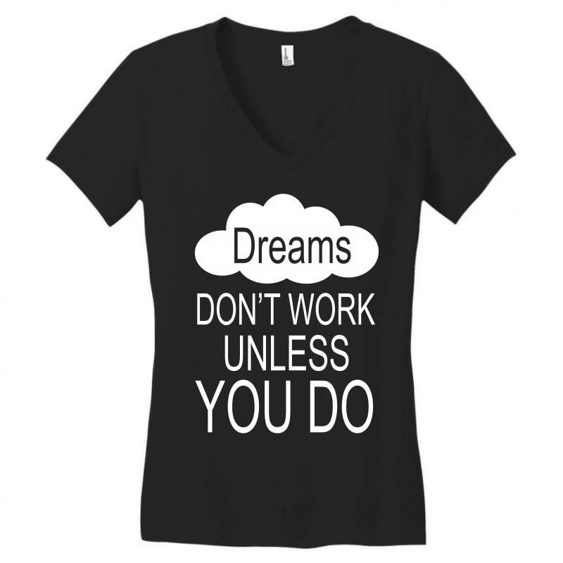 Don't Work Unless You Do Women's V-neck T-shirt | Artistshot