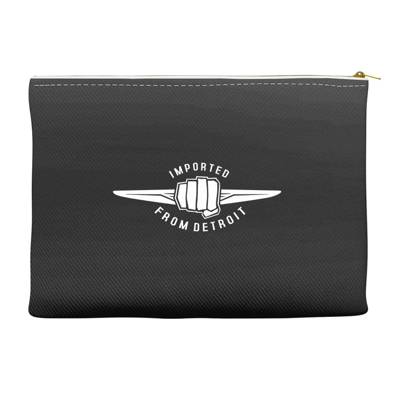 Made In Detroit Chrysler Accessory Pouches | Artistshot