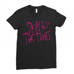 sign o the times Ladies Fitted T-Shirt | Artistshot