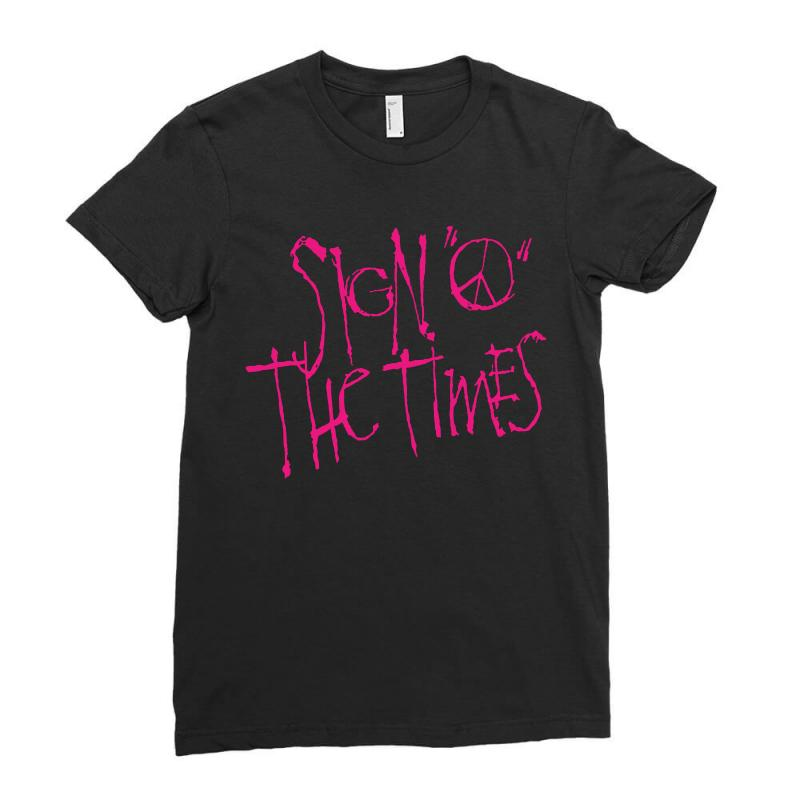 Sign O The Times Ladies Fitted T-shirt   Artistshot