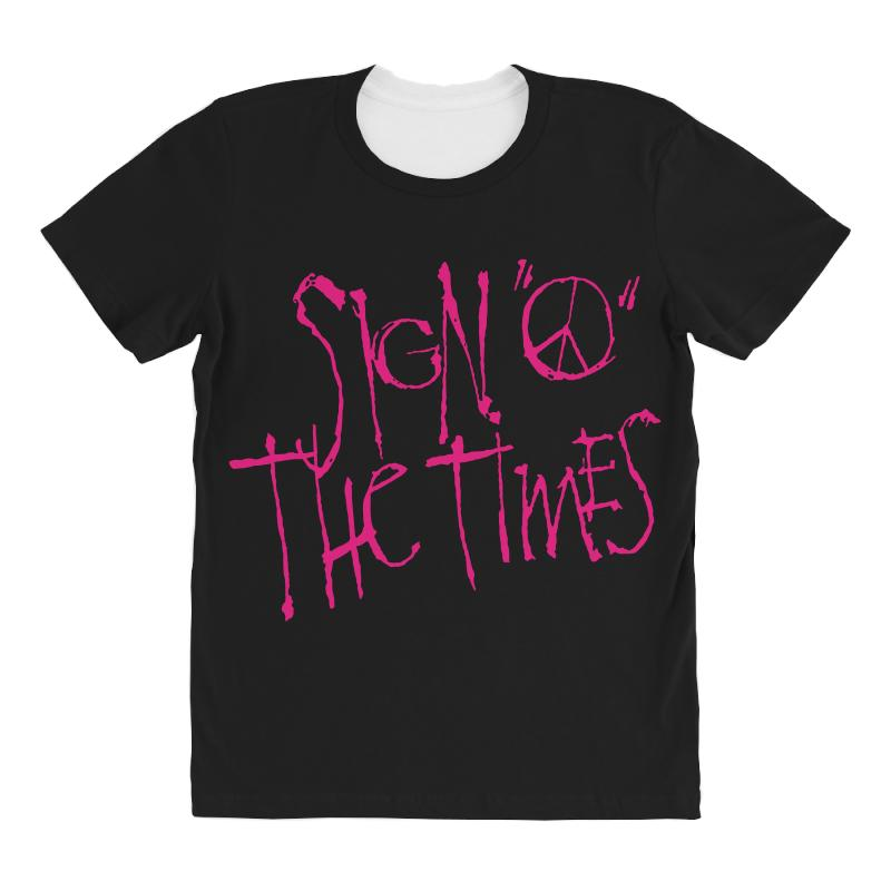 Sign O The Times All Over Women's T-shirt   Artistshot