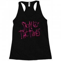 sign o the times Racerback Tank | Artistshot