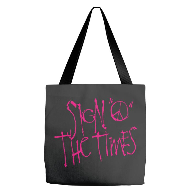Sign O The Times Tote Bags | Artistshot