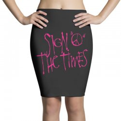 sign o the times Pencil Skirts | Artistshot