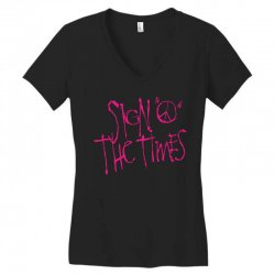 sign o the times Women's V-Neck T-Shirt | Artistshot