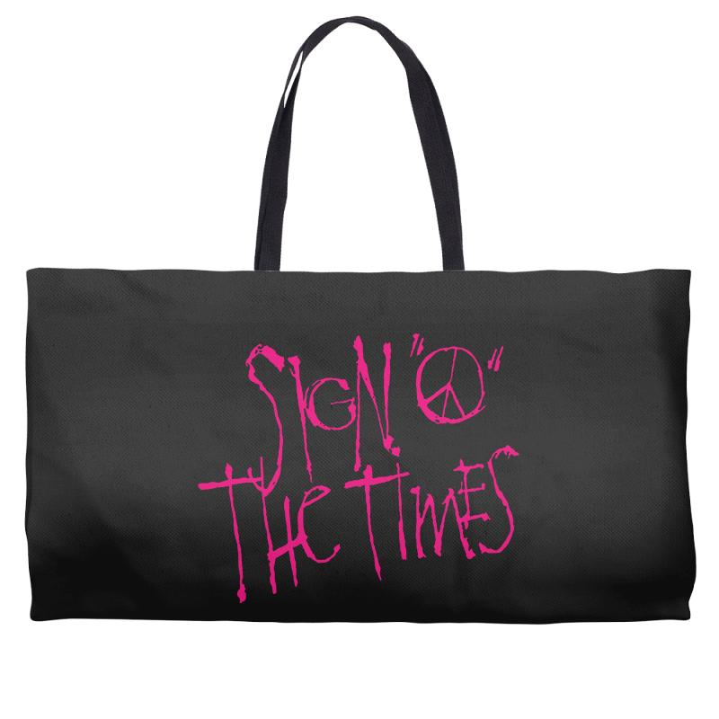 Sign O The Times Weekender Totes | Artistshot