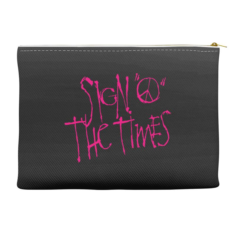 Sign O The Times Accessory Pouches | Artistshot