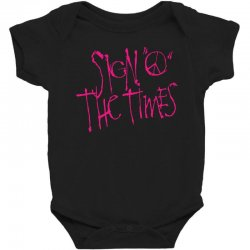 sign o the times Baby Bodysuit | Artistshot