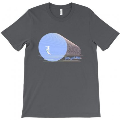 Surfing Boy Abstract T-shirt Designed By Seniha