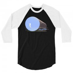 surfing boy abstract 3/4 Sleeve Shirt | Artistshot