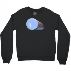 surfing boy abstract Crewneck Sweatshirt | Artistshot