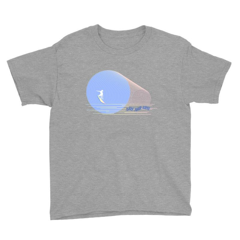 Surfing Boy Abstract Youth Tee | Artistshot