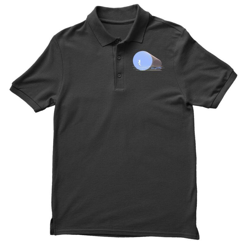 Surfing Boy Abstract Men's Polo Shirt | Artistshot