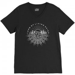 land of living skies V-Neck Tee | Artistshot