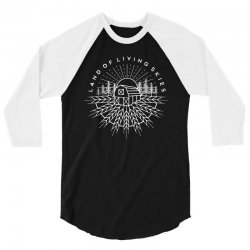 land of living skies 3/4 Sleeve Shirt | Artistshot