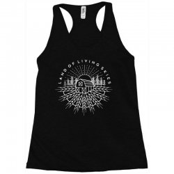 land of living skies Racerback Tank | Artistshot