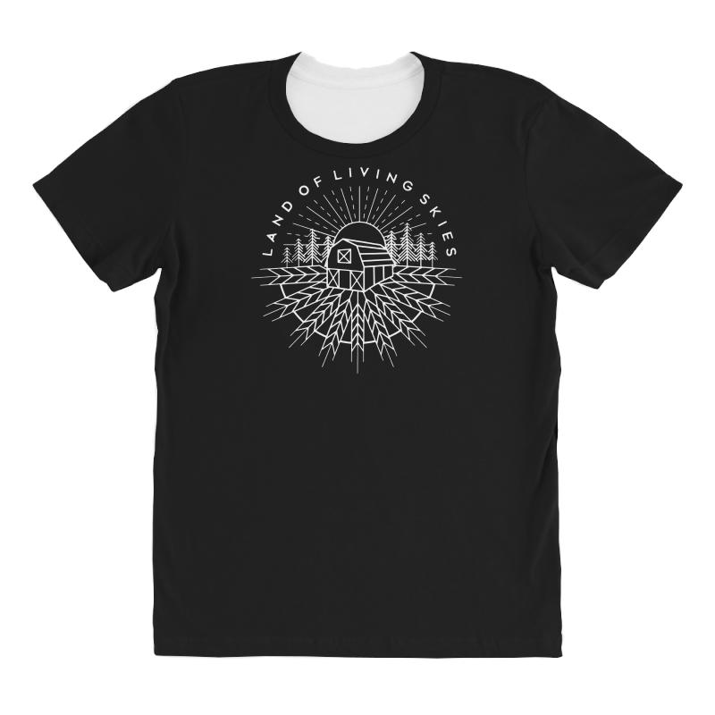 Land Of Living Skies All Over Women's T-shirt | Artistshot