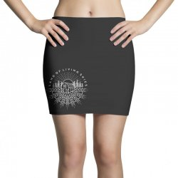 land of living skies Mini Skirts | Artistshot