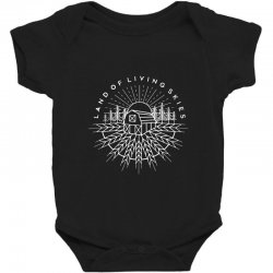 land of living skies Baby Bodysuit | Artistshot