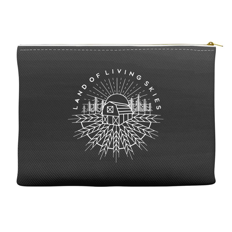 Land Of Living Skies Accessory Pouches | Artistshot