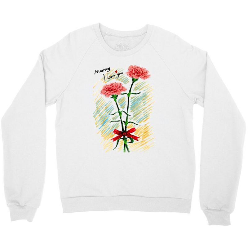 Love Mom Crewneck Sweatshirt | Artistshot