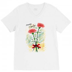 love mom V-Neck Tee | Artistshot