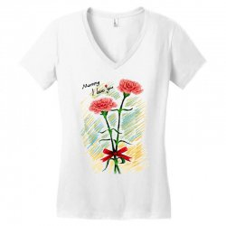 love mom Women's V-Neck T-Shirt | Artistshot