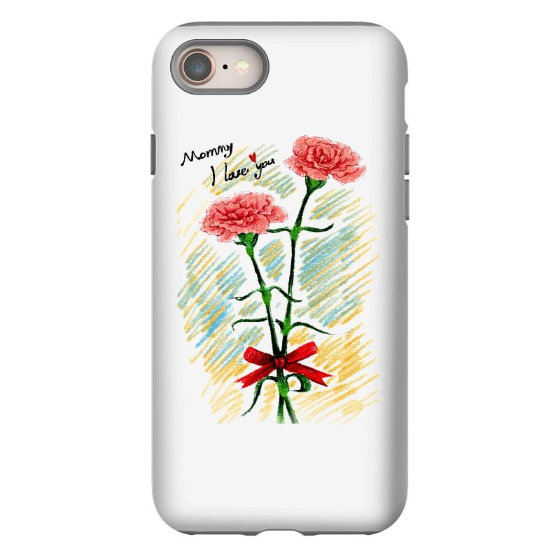 Love Mom Iphone 8 Case | Artistshot