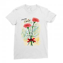 love mom Ladies Fitted T-Shirt | Artistshot