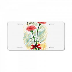love mom License Plate | Artistshot
