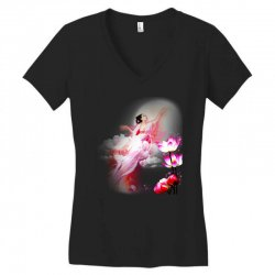 moon princess Women's V-Neck T-Shirt | Artistshot