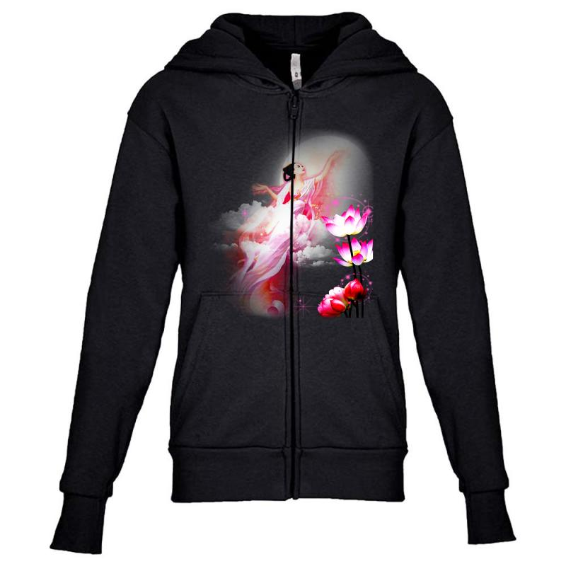 Moon Princess Youth Zipper Hoodie | Artistshot