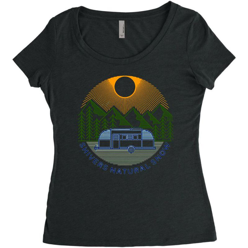 Natural Snow Women's Triblend Scoop T-shirt | Artistshot