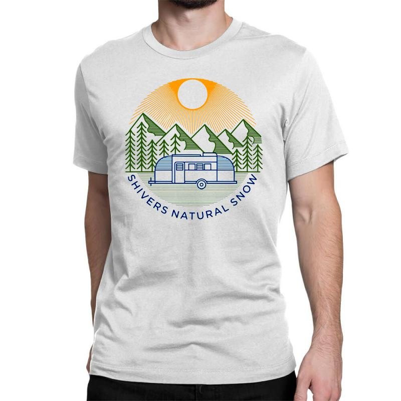 Natural Snow Classic T-shirt | Artistshot