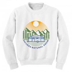 natural snow Youth Sweatshirt | Artistshot